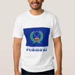 Flag of Pohnpei, with name T Shirt
