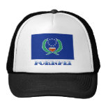 Flag of Pohnpei, with name Trucker Hat