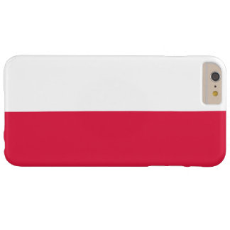 Flag of Poland Barely There iPhone 6 Plus Case