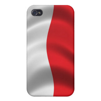 Flag of Poland for iPhone 4 iPhone 4 Case