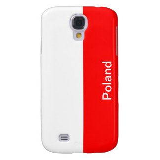 Flag of Poland Galaxy S4 Cover