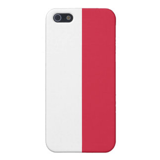 Flag of Poland iPhone SE/5/5s Cover
