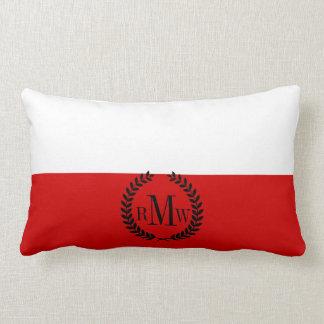 Flag of Poland Lumbar Pillow