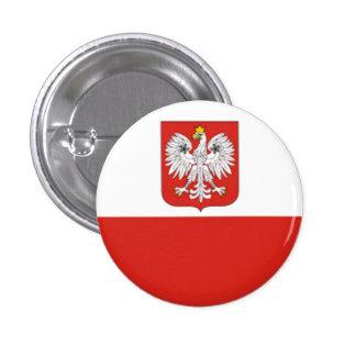 Flag of Poland Pinback Button