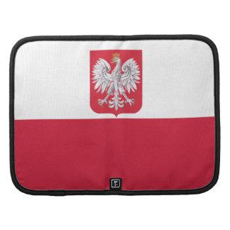Flag of Poland Rickshaw Folio Smartphone Case Organizers