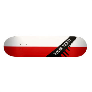 Flag of Poland Skateboard Deck