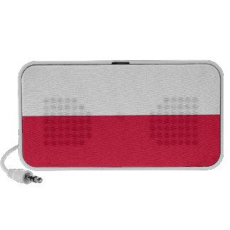 Flag of Poland Notebook Speaker