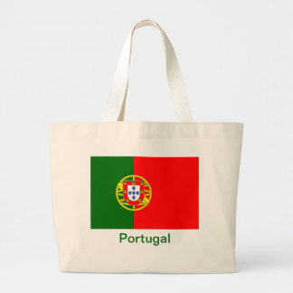 Flag of Portugal Canvas Bags