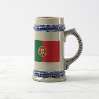 Flag of Portugal Beer Stein