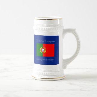 Flag of Portugal Beer Stein