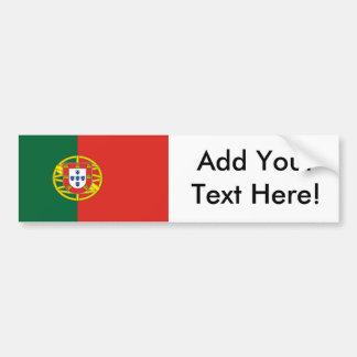 Flag of Portugal Bumper Sticker