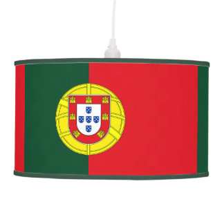 Flag of Portugal Ceiling Lamp