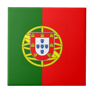 Flag of Portugal Ceramic Tile