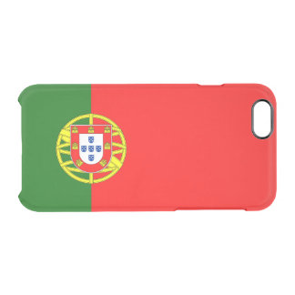 Flag of Portugal Clear iPhone Case