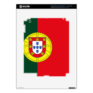 Flag of Portugal Decal For iPad 3
