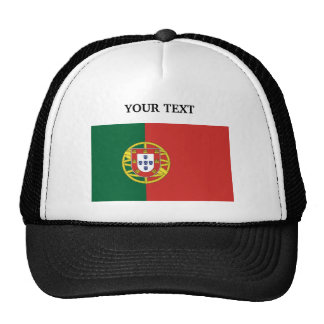 Flag of Portugal Mesh Hat