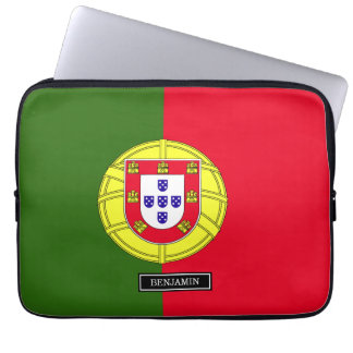 Flag of Portugal Laptop Sleeve