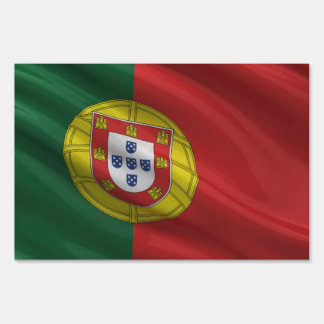 Flag of Portugal Lawn Signs