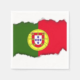 Flag of Portugal Napkin