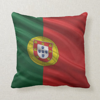 Flag of Portugal Throw Pillow
