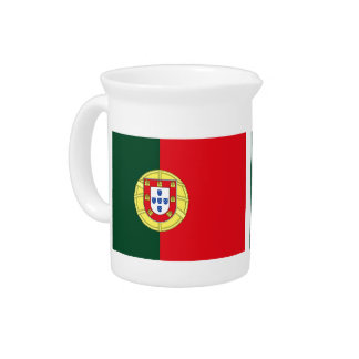 Flag of Portugal Pitcher