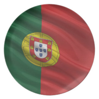 Flag of Portugal Plates