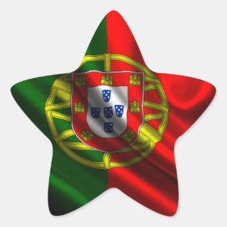 Flag of Portugal, Portuguese Flag Star Sticker
