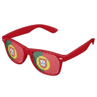 Flag of Portugal Retro Sunglasses