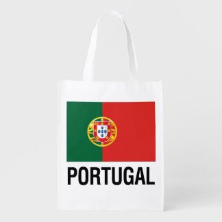 FLAG of PORTUGAL Reusable Grocery Bag