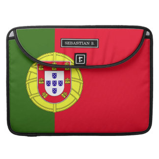 Flag of Portugal Sleeve For MacBook Pro