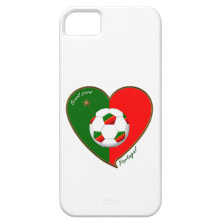 Flag of PORTUGAL SOCCER of national team 2014 iPhone SE/5/5s Case