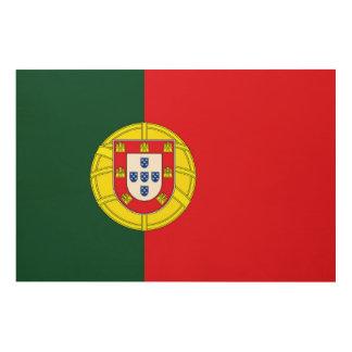 Flag of Portugal Wood Wall Art