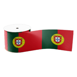 Flag of Portugal Grosgrain Ribbon