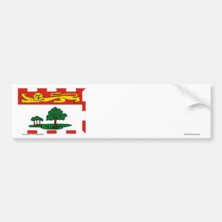 Flag of Prince Edward Island, Canada Car Bumper Sticker