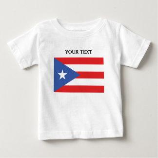 Flag of Puerto Rico Baby T-Shirt