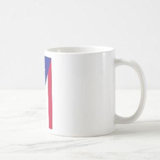 Flag of Puerto Rico - Bandera de Puerto Rico Coffee Mug