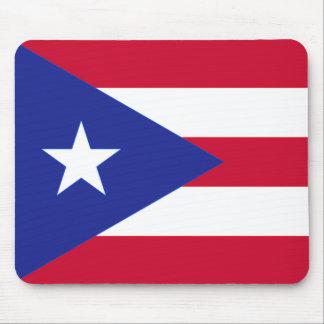 Flag of Puerto Rico - Bandera de Puerto Rico Mouse Pad