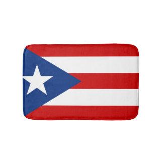 Flag of Puerto Rico Bath Mats