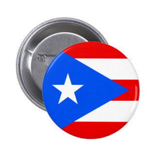 Flag of Puerto Rico 2 Inch Round Button