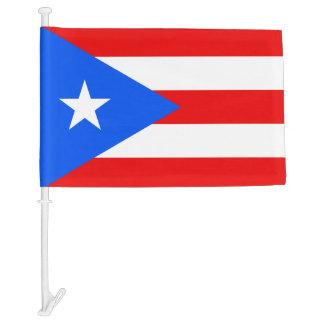 Flag of Puerto Rico Car Flag