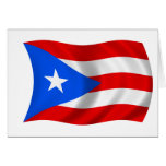 Flag of Puerto Rico Cards