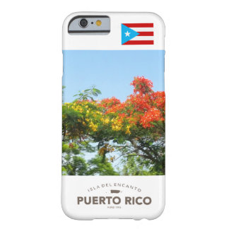 Flag of Puerto Rico, Flamboyan Barely There iPhone 6 Case