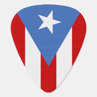 Flag of Puerto Rico Guitar Pick