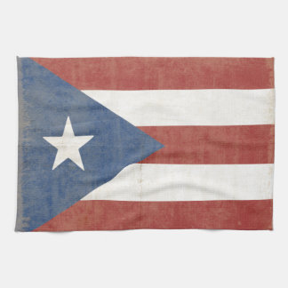 Flag of Puerto Rico Hand Towel