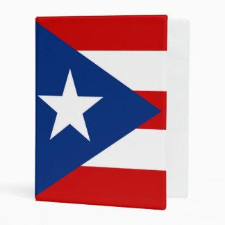 Flag of Puerto Rico Mini Binder