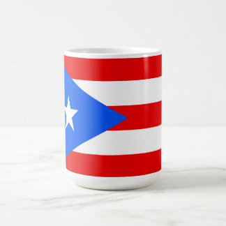 Flag of Puerto Rico Mugs