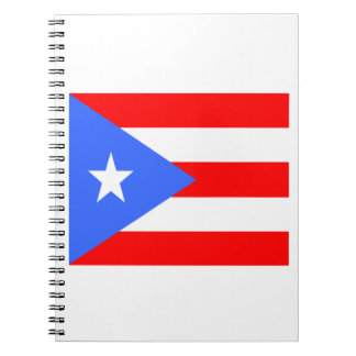Flag of Puerto Rico Note Book