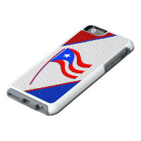 Flag of Puerto Rico Otter Box iPhone 6/6s Case