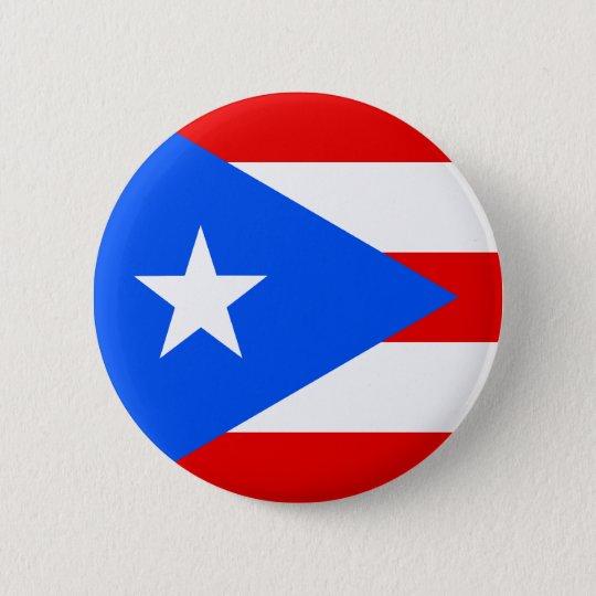 Flag of Puerto Rico Pinback Button