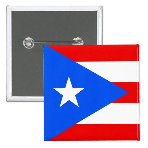 Flag of Puerto Rico Pins